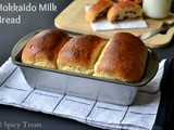 Hokkaido Milk Bread With Tangzhong ~ Eggless  Version
