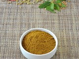 Homemade Curry Masala Powder / Curry Masala Powder Recipe
