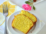 Orange Loaf Cake / Low Calorie Orange Loaf Cake With Olive Oil