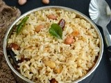 Peanut Rice / Verkadalai Sadham - Easy Lunch Box Recipes
