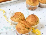 Poppy Seeds Parsley Savory Muffins ~ Eggless