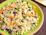 Quinoa Black Bean Salad Recipe | Quinoa Black Bean Salad With Cilantro Lime Dressing