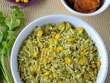 Sweet Corn Cilantro Rice
