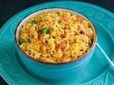 Tomato Rice / Quick Tomato Rice ~ Easy Lunch Box Recipe