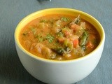 Vegetable Chalna / Veg Chalna ~ Virtual Birthday Party for Divya Pramil