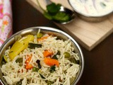 Vegetable Pulao Recipe | Easy Vegetable Pulao Recipe | Restaurant Style Veg Pulao Recipe