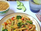 Vegetable Whole Grain Pasta / Vegetable Penne Pasta