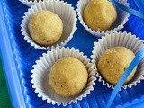Wheat Flour Laddu / Atta Laddu - Easy & Quick Diwali Sweet Recipe