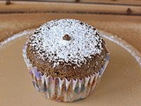 Whole Wheat Ragi chocolate Cupcakes ~ Coffee Flavor
