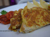 Bread omelette recipe| How to make bread omelette