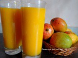 Mango Juice | How to make mango juice