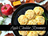 Apple Cheddar Rosemary Biscuits and the Things i Never Saw Myself Doing