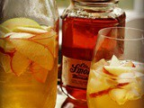 Apple Pie Moonshine Sangria Cocktail