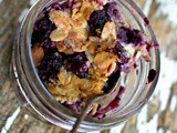 Blueberry Crisp Recipe, the Dessert that Becomes Breakfast