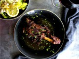 Braised Lamb Shanks in Red Wine