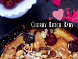 Cherry Dutch Baby, Gluten Free