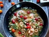 Easy Shrimp White Bean Soup, and My Pantry Hacks