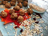 Energy Balls Recipe with Oats, Gluten Free, Sugar Free