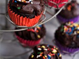 Gluten Free Chocolate Fudge Cupcakes