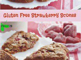 Gluten Free Strawberry Scones Recipe