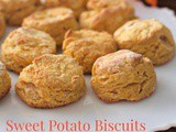 Gluten Free Sweet Potato Biscuits