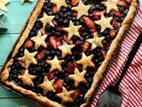 How to Make Sheet Pan Slab Pie with Fresh Peaches and Blueberries