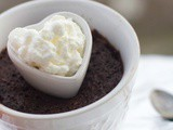Individual Gluten Free Chocolate Molten Cakes and an Idea for Valentine's Dinner