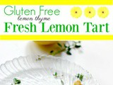 Lemon Tart Recipe, Gluten Free Option