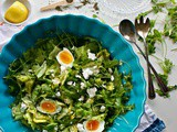 Lemon Vinaigrette Recipe and Soft Hard Boiled Eggs