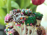 Marshmallow Pop Bouquets and Easter Dinner