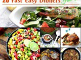 My Favorite Easy Fast Dinner Recipes