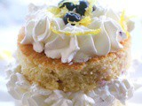 Olive Oil Lemon Cream Cake