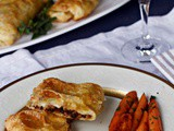 Quick Puff Pastry Recipe with Veal and Prosciutto