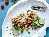 Roasted Sable Fish (Black Cod) with Fresh Peach Salsa