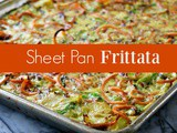 Vegetarian Frittata Recipe: a Sheet Pan Frittata