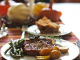 Win Groceries for a Year and Baked Pork Chops with Rosemary, Apples and Caramelized Onions