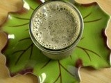 Green Smoothies: Zucchini Bread Smoothie