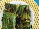 Meen Pollichadu/ Steamed Fish in Banana Leaf