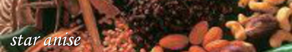 Very Good Recipes - star anise