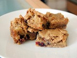 Chocolate & Cranberry Blondies