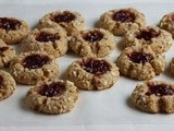 Cherry Almond Thumbprint Cookies + a Cookie Swap