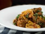 Lamb Stew with Artichokes, Olives & Mint