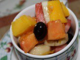 Fruit Salad... Dressing