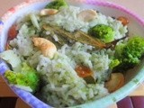 Broccoli pulao/Broccoli Rice