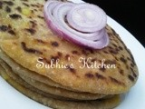 Aloo Paratha/Potato stuffed Flatbread