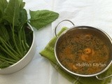 Palak Shrimp Curry/Spinach shrimp Curry