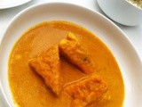 Paneer Pasanda-Stuffed Cottage Cheese in Gravy