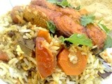 Spicy n Flavorful Salmon Fish Biriyani