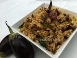 Vangi Bhath - Spicy and Sour Brinjal Rice