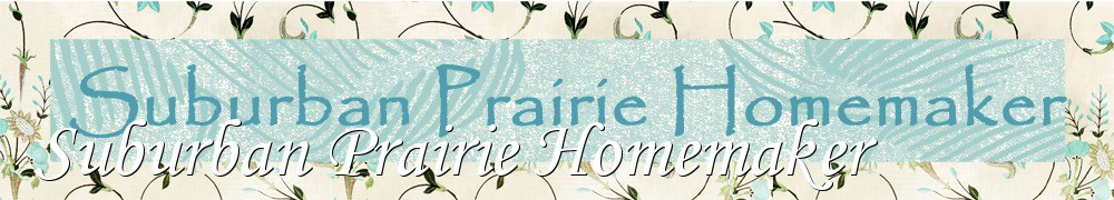 Very Good Recipes - Suburban Prairie Homemaker